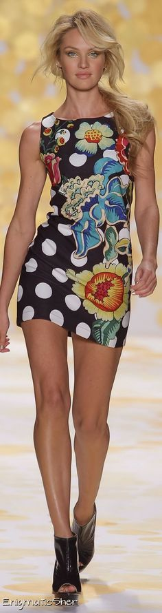 Desigual Collections Fall Winter 2014-15 - pure fun that can also be used as a layering piece.