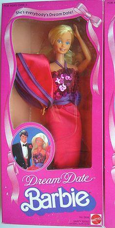 1983 Dream Date Barbie.