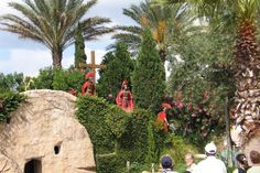 Experience the sights and sounds from the Bible in a unique way spectacular recreations of architecture and meaningful events of the Holy Land Experience.
