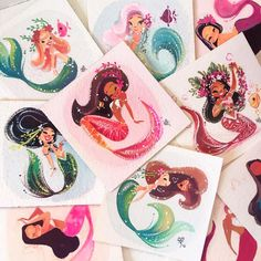 I'll try to post originals to my shop a bit more frequently and the dates &…