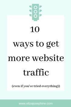 Increase your website traffic with these top 10 tips. From SEO to guest posting to social media, start increaseing your website traffic today. Seo Guide, Seo Tips, Seo Strategy, Digital Marketing Strategy, Paying Ads, Social Media Engagement, Social Media Site, News Online, Pinterest Marketing
