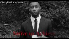 Being Black in America is a spoken word project in which an male uses his voice to express his emotions towards the ever-too. Spoken Word Poetry, The Voice, Poems, Christian, America, Fictional Characters, Black, Heart, Unique