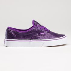 Glitter Dots purple Vans - If anyone has an extra $55 to buy me a pair I'd say thanks! : )