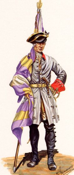 SYW- France: French Regiment Berry, 1757-1760, by R. Marrion.