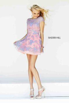 "Laced prom dress from ""Sharri Hill"""