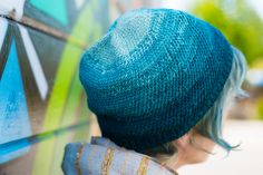 Fantastic top-down hat in multiple gauges to knit! Ravelry: Temescal pattern by Arlette