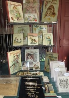 Forget Me Not Antiques at Allentown Paper Show 2016
