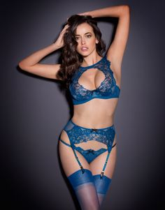 The garter belt is $320. Whole outfit is $830 plus the price of the hose. Is there an internet filter that can filter out folks like me from web sites we have no business visiting? [La Demoiselle by Agent Provocateur - Cassia Suspender]