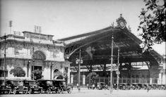 Estacion Central 1930 Past, Louvre, Cabin, House Styles, Building, Photography, Travel, Vintage, Santiago