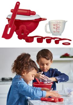 Mini Baking Set. Share the joy of baking with your young ones. Available through November 11, 2016.