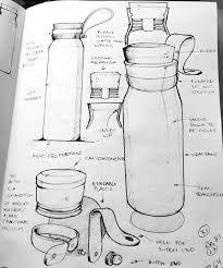 Image result for water bottle sketch