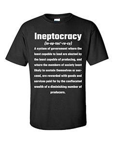 Ineptocracy Presidential Election Politics Government - Unisex Tshirt Black S Super Fan Shirts http://www.amazon.com/dp/B015NZEAA2/ref=cm_sw_r_pi_dp_Pfvcwb1VB9533