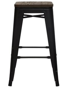 Luca Ari Barstool, Black - Simple yet stylish, the Ari Barstool is a great addition to any kitchen area. Available in Black or White. Nursery Furniture, Dining Furniture, Home Furniture, Living In New Zealand, Black Bar Stools, Black Furniture, Glamping, Kitchen Dining, Tiny House
