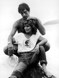 Priscilla & Mike Edwards.  Edwards was a live-in boyfriend of Priscilla Presley from 1978 to 1984.