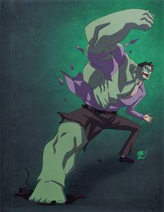 Hulking Out! by Eric Guzman