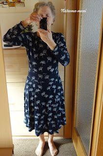 Naehoma - moni: Kleid Zoe Short Sleeve Dresses, Dresses With Sleeves, Long Sleeve, Shoulder Dress, Fashion, Sew Dress, Clothing Apparel, Moda, Sleeve Dresses