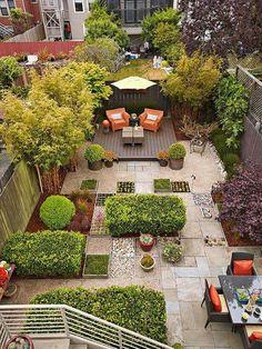 Garden design: Contemporary outdoor oasis | Fischteiche, Terrasse ...