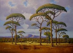 Somerset West, South African Art, African Paintings, Game Reserve, Landscape Paintings, Landscapes, Natural History, Wonders Of The World, Wall Murals