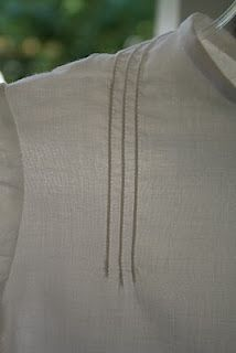 corded pin tucks