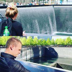 9-11 met @isabellaeichhorn in 2013 en met @spijkert in 2016 bij het monument geweest. #911#911memorial#newyork#ny#bijzonder#memorialday#neverforget#mazzel