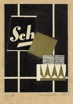 "Kurt Schwitters - ""Mz 26,45 Sch."" - c.1925-6"