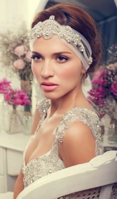 Bridal Accessories by Anna Campbell 2013 Collection | bellethemagazine.com