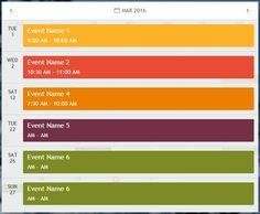 Monthly.js – A jQuery based responsive calendar plugin