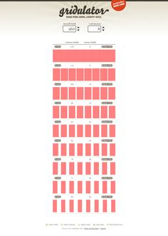 Gridulator Grid, Web Design, Words, How To Make, Design Web, Website Designs, Horse, Site Design
