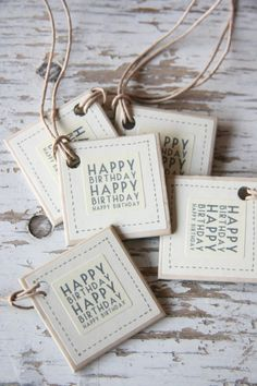 East of India Label karton Happy Birthday off-white Happy Birthday Tag, Birthday Tags, Happy Birthday Quotes, It's Your Birthday, Congrats Wishes, Birthday Wishes Greetings, Congratulations, Birthday Images For Facebook, Happy B Day Images