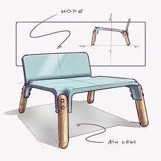 """Mi piace"": 1,985, commenti: 12 - Nicholas Baker (@nickpbaker) su Instagram: ""chair monday, resketched that chair idea from yesterday's livestream on @advdessketch . . .…"""