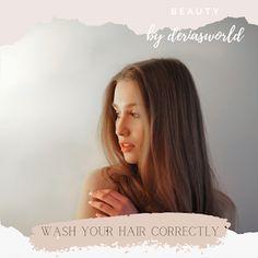 #hair #haircare #hairwash Castor Oil For Hair, Hair Oil, Deep Cleansing Shampoo, Air Dry Hair, Mild Shampoo, Hair Breakage, Oily Hair, Hairspray, Hair Type