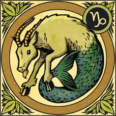 Capricorn the Sea Goat ♑