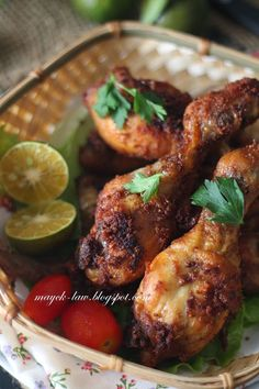 厨苑食谱: 印尼炸鸡 (Indonesian Fried Chicken, Ayam Goreng Kremes...