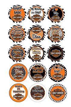 Bottle Cap Inserts (Harley Davidson)