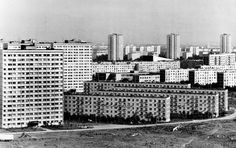 The grim prefab Khrushchyovka helped solve the USSR's housing crisis after World War II. Now, Moscow plans to demolish of them, displacing more than million people. Should any be preserved for posterity? History Magazine, The Grim, Soviet Union, Prefab, Willis Tower, World Cultures, World War Ii, Skyscraper, Photo Wall