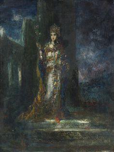 La Fiancee de la Nuit by Gustave Moreau | Obelisk Art History
