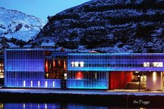 The Arctic Culture Center is a central venue for #art, cultural activities, and conferences in the seafront in #Hammerfest, the world's #northernmost town. The #building seeks to be a space where accessibility, openness and creative, artistic energy are expressed. Is visible both from the sea and from land, adding a major feature to the townscape. An external skin of glass is lit up by LED lighting in the colours of #ice and northern lights through the long, dark winters. In summer, the…