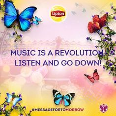 Music is a revolution, listen and go down!