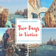 How to Spend Two Days in Venice, Italy