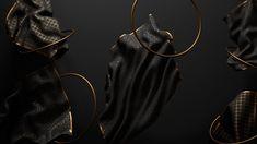 Dark & Gold Series on Behance
