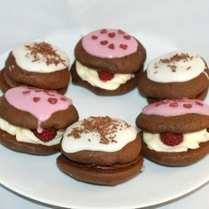 Decorated whoopie pies