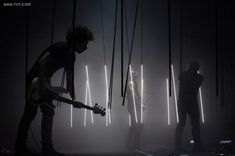 NIne Inch Nails-Tour stage lighting Nine Inch Nails Live, Body Painting, Concert Stage Design, Concert Lights, Stage Lighting Design, Music Artwork, Band Photos, Concert Photography, Light Installation