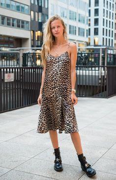 Ganni street style | Marie von Behrens | Dufort Silk Strap Dress