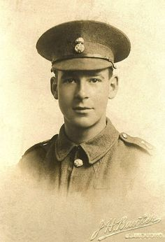 WW1, July 11th 1916. Private Brown, 16th battalion of the Royal Welsh Fusiliers, was killed in action in the advance on Mametz Wood, he was 20 years old and has no known grave. He is commemorated on  Thiepval Memorial. Wilfred Brown was a native of Llandudno and after finishing school joined his father in his business as a hairdresser.