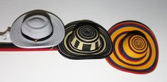 Quilling Colombian Hats
