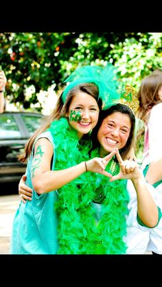 """""""The good go Greek, the great go Green!"""""""