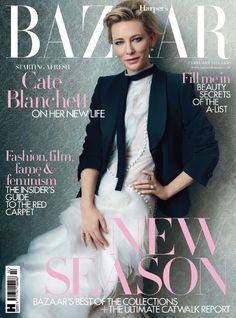 Cate Blanchett by Norman Jean Roy for Harper's Bazaar UK February 2016