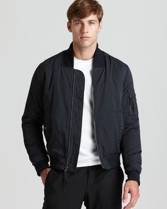 Bomber Coat by Vince