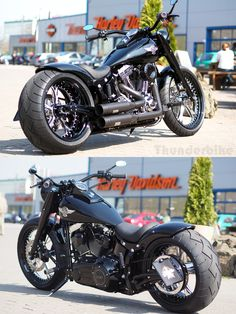 Harley-Davidson Softail Fat Boy by Thunderbike