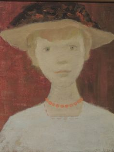 'Gladys' oil on canvas, by Jean Paul Lemieux Great Artists, Les Oeuvres, Oil On Canvas, Art Gallery, Faces, Lovers, Portraits, People, Painting